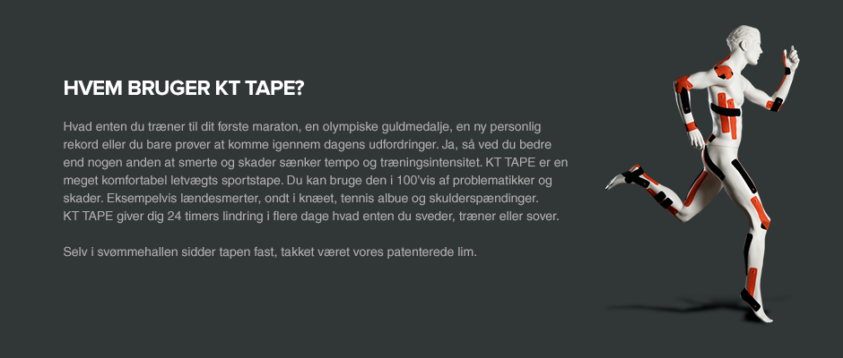 Hvem bruger KT Tape