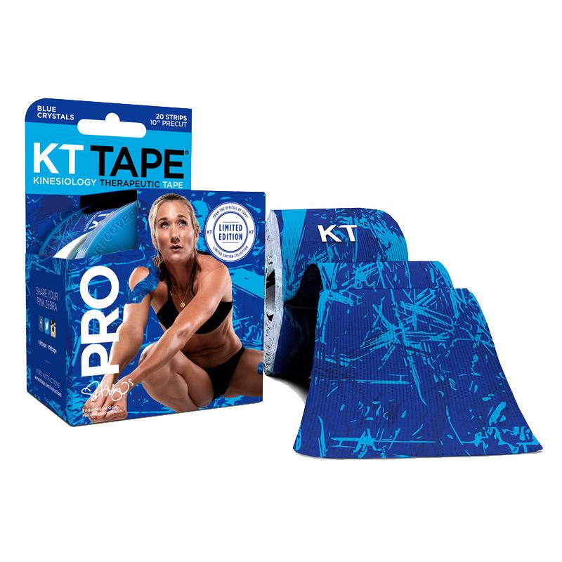 KT Tape Pro Blue Crystals